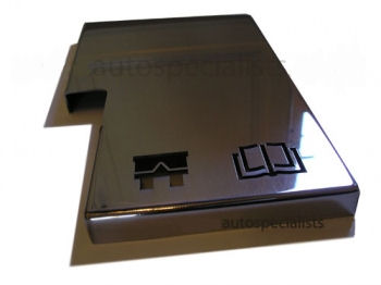 Ford Fiesta Mk2 Fuse Box : Polished stainless fuse box cover focus rs mk auto specialists