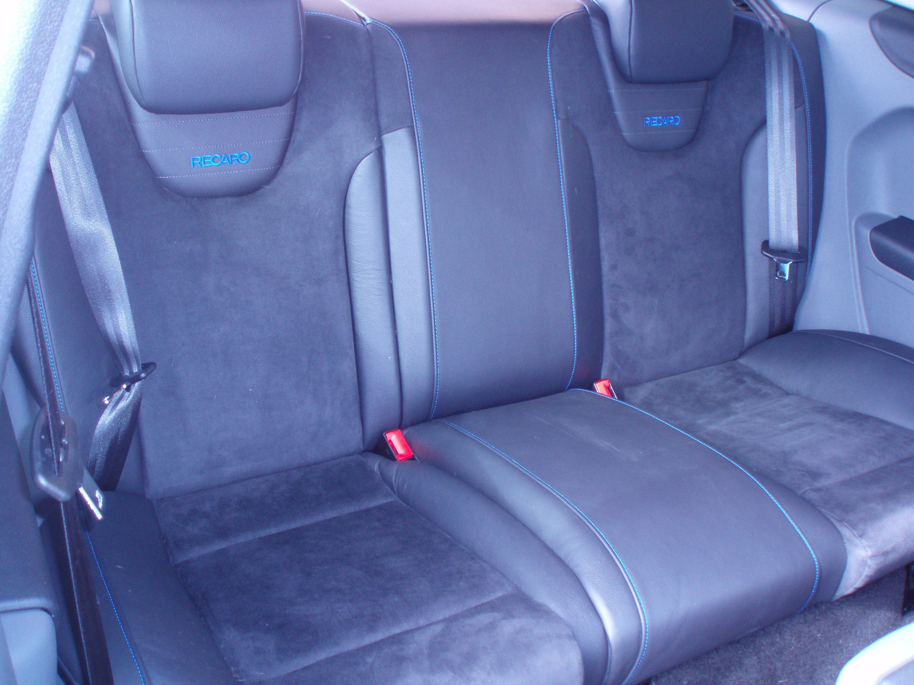 Genuine ford rs rear seat assembly focus rs mk2 ford interior