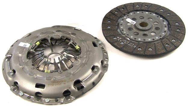 Genuine Ford Clutch Plate & Cover Assembly Focus RS Mk2 2