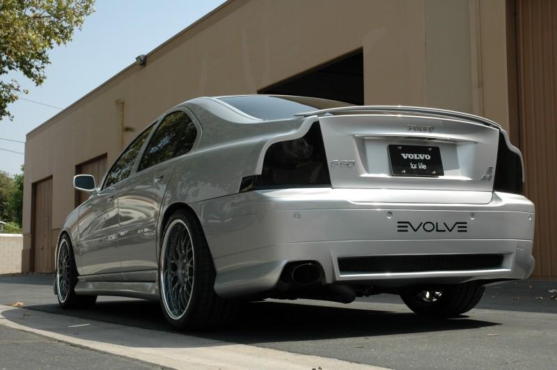 Elevate Volvo S60r Aerodynamic Sport Rear Bumper Exterior Styling