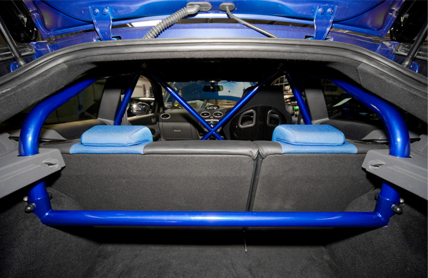JWR HALF ROLL CAGE - FORD FOCUS ST - Roll Cages - Suspension