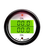SPA DG201 Oil Pressure / Oil Temperature