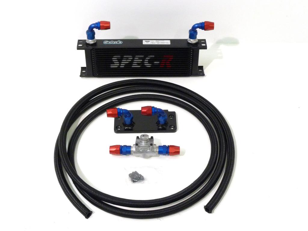 Spec r alloy oil cooler hose kit complete focus rs mk2
