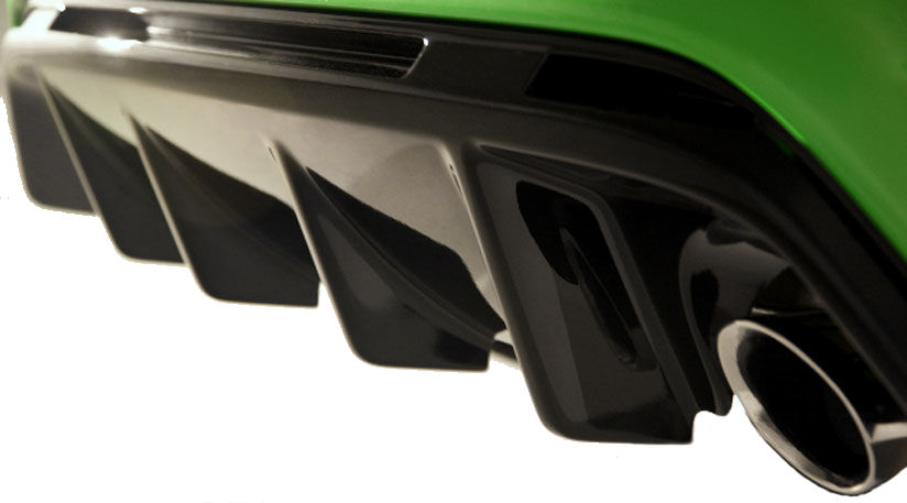 Ford exterior styling bodywork interior ford focus rs mk1 genuine ford rear diffuser focus rs mk2 publicscrutiny Images
