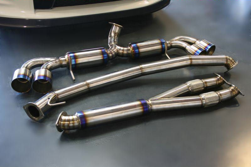Willall Racing - Exhaust Systems - Nissan R35 GT-R - Home